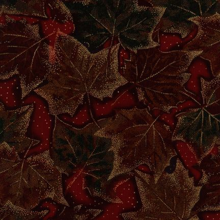 Robert Kaufman Fabrics: ESM-5158-2 HOLIDAY from Nature's Brilliance