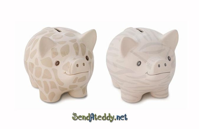 Giraffe pattern #piggybank http://www.sendateddy.net/add-gift.php#!/c/6308285/inview=product45038583&offset=0&sort=addedTimeDesc