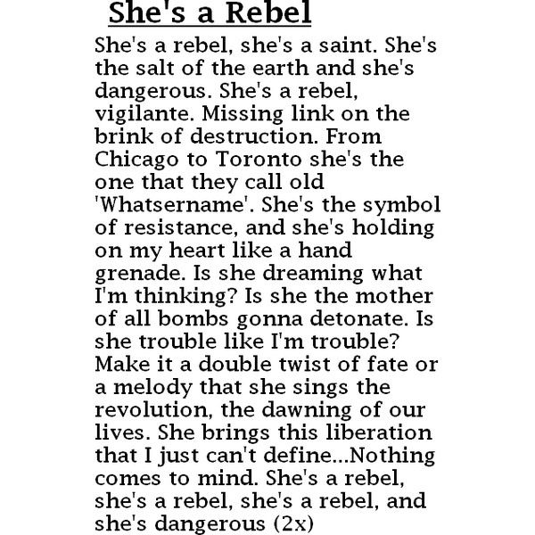 Bikini Kill - Rebel Girl (with lyrics) - YouTube