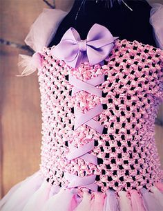 how to make flower girl tutu dress - Google Search