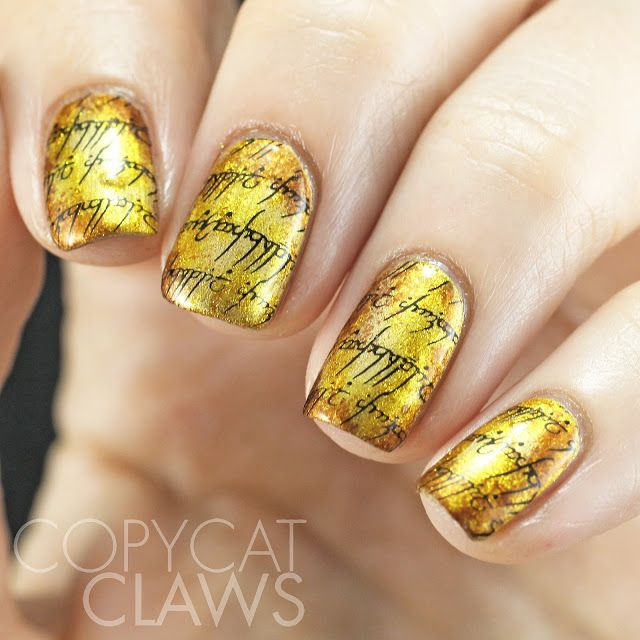 Copycat Claws: UberChic Beauty Geek Love-01 Stamping Plate Review