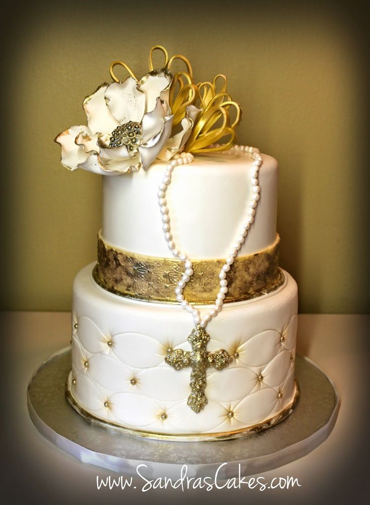 100+ [ First Communion Cake Decorating Ideas ] First ...