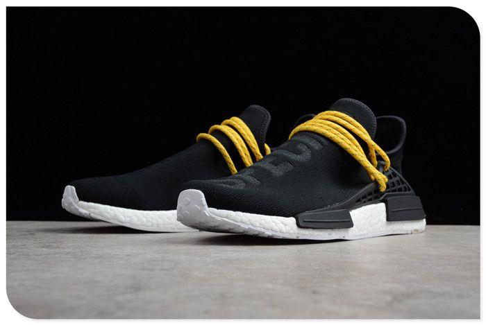 10c46e9c8f47a Pharrell x adidas Boost Human Race NMD Black White BB3068