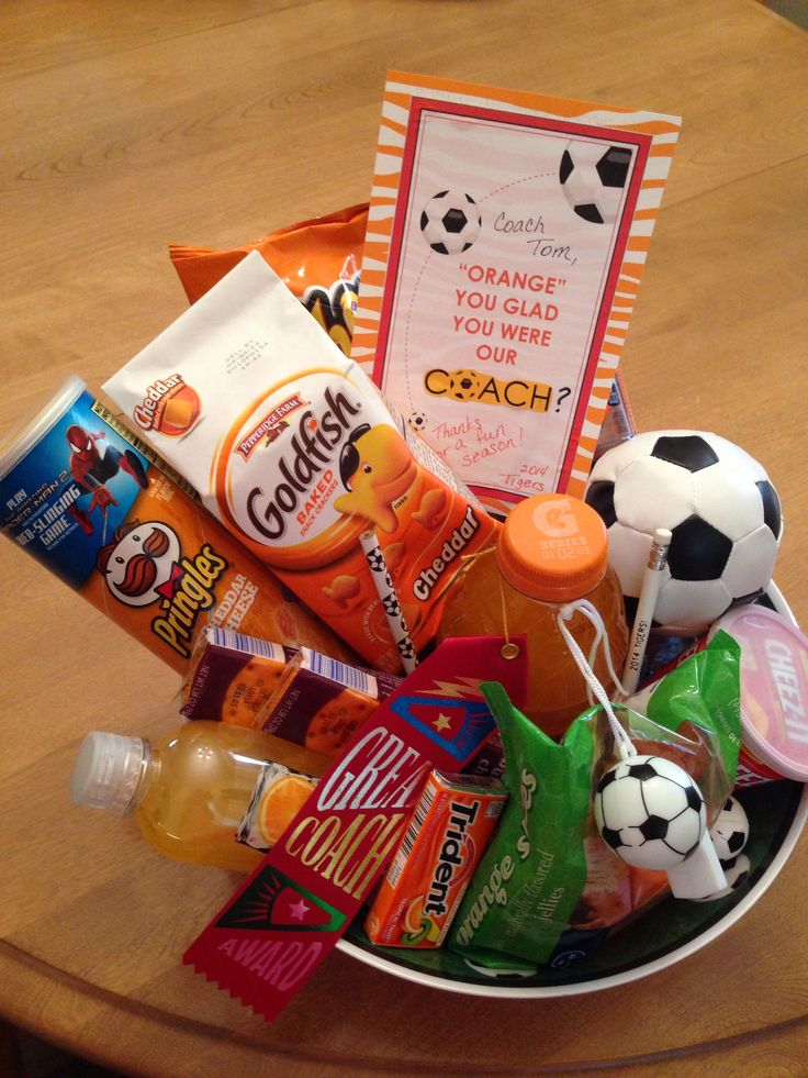 Soccer Coach gift!