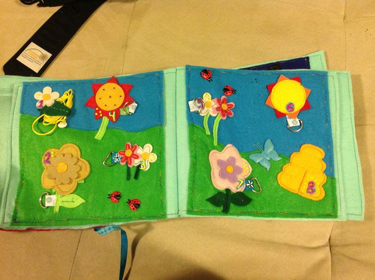Quietbook page - bumblebee lacing activity.  Pattern modified from imagineourlife.com.
