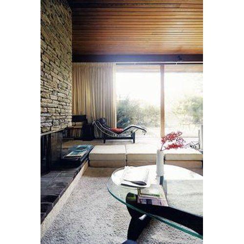 Le Corbusier Chaiselongue LC4 mit schwarzem Leder