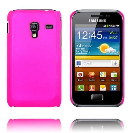 Hard Shell (Hot Pink) Samsung Galaxy Ace Plus Cover