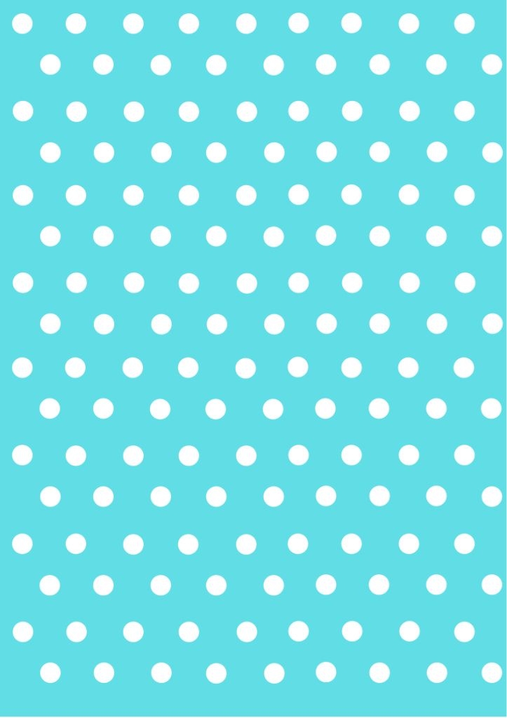 polka dot papers tiffany blue
