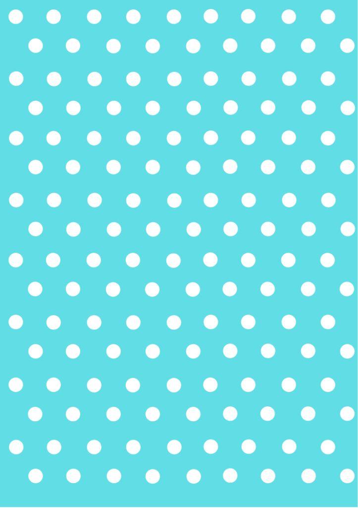 polka dot papers tiffany blue