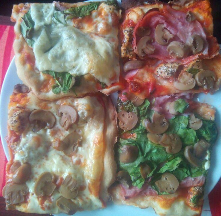 Pizza čtverečky