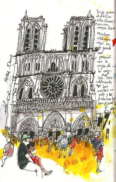 Notre Dame by inmaserranito