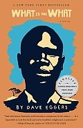"""Dave Eggers """"What is the What"""" a serious  and eye opening account from the lost boys of Sudan. Deng's travels are fraught with peril and extreme choices, little did he expect to find America to be as perilous."""