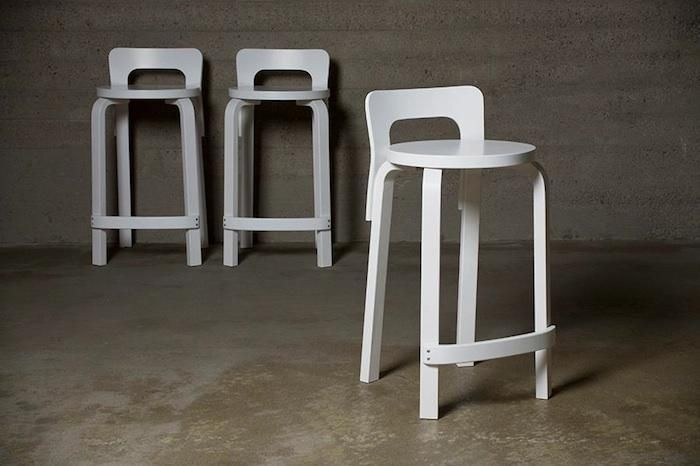 Artek High Chair K65 Stool