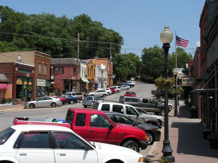 Parkville, MO, home of Park University