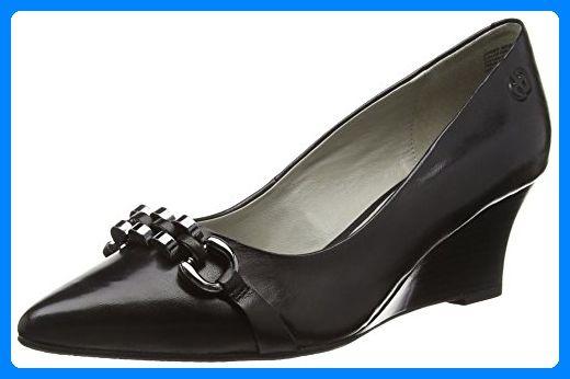 Gerry Weber Shoes Affi 03, Damen T-Spangen Pumps, Schwarz (schwarz 100), 37 EU (4 Damen UK) - Damen pumps (*Partner-Link)