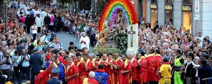 Festa di San Matteo, santo Patrono della città di Salerno #Salerno  #SanMatteo #Processione #Festa