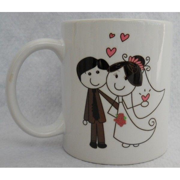 taza personalizadas o mugs personalizados para bodas para invitados