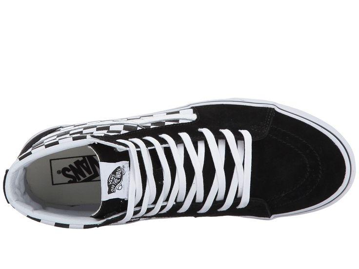 Vans SK8-Hitm Skate Shoes (Checkerboard) Black/True White 1