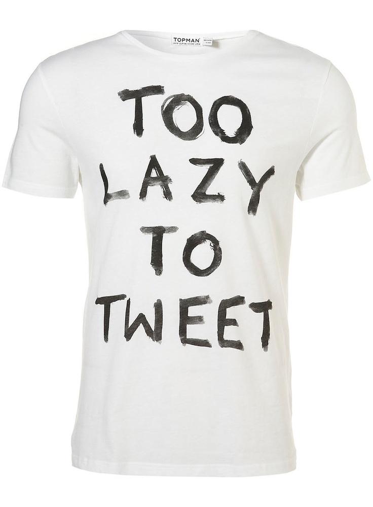 Tweet is lazy