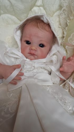 QUEEN'S CRIB OOAK REBORN BABY GIRL DOLL PRINCESS POPPET ! BOUTIQUE LAYETTE