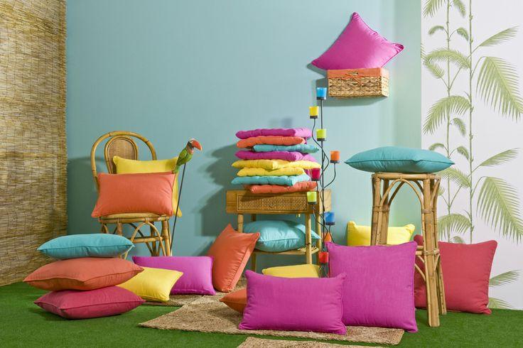 Llena tu hogar de color.  http://www.lamallorquina.es/es/