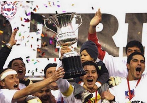 Luis Mena, David Henríquez y Miguel Riffo