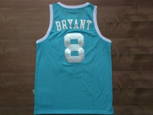 NBA Los Angeles Lakers Kobe Bryant throwback Retro Basketball Jersey Blue