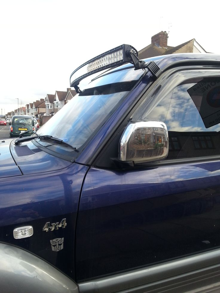 """50"""" led curved windscreen light brow"""