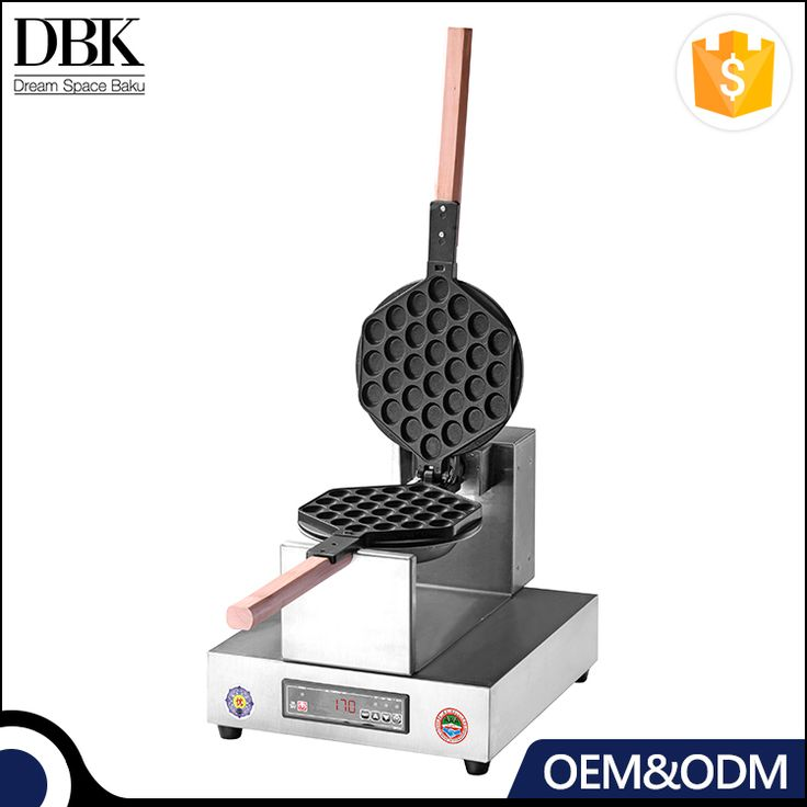 High efficiency wholesale commercial professional egg waffle maker