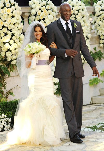 I actually think that Khloe look great, and Lamar's tux is boss!