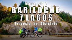 De Bariloche a Villa La Angostura en bicicleta.-