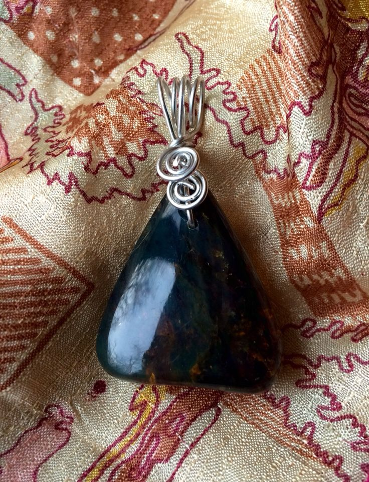 Wire Wrapped Amber Pendant. Amber is excellent for reducing anxiety, alleviating depression, and dealing with pain of all forms. It also has long been used to help ease teething discomfort for infants. Simply hold a piece of Amber to the site of pain; for infants, create a necklace for the child to wear while cutting teeth. Amber also helps connect to the wisdom and guidance of ancestors and is a wonderful link to Mother Nature. To see if you have a genuine piece of Amber, place it under a…