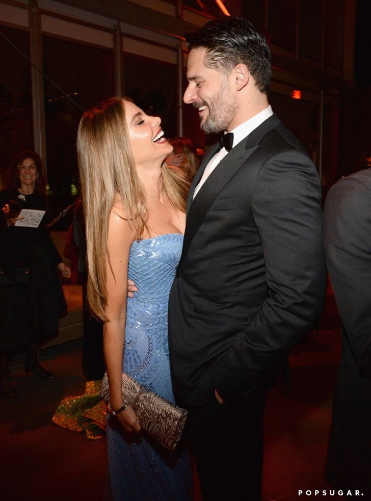 Pin for Later: The 20 Most Fun-Filled Photos From Vanity Fair's Oscars Afterparty Sofia Vergara and Joe Manganiello