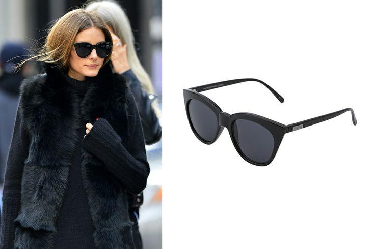Olivia Palermo's Sunglasses -  Le Specs Halfmoon Magic, $59