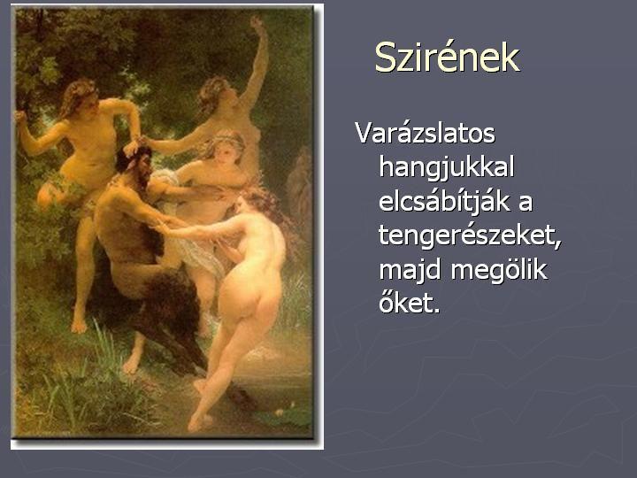 DiaShow diamegosztó - Emberiség - Mitológia: Görög istenek