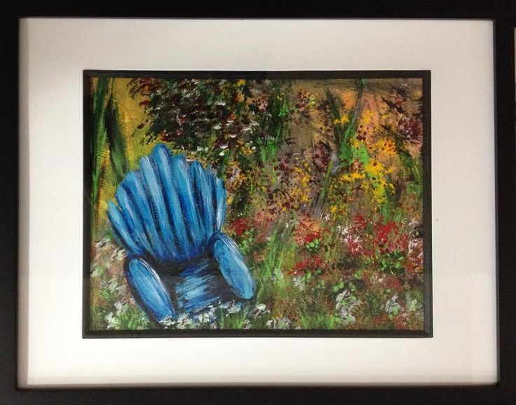 """""""Blue Chair"""" by Tina Clancy"""