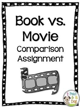 Keep your students accountable for their reading by making them compare the book and the movie.  Assignment Includes: -Reading, Writing, Oral and Media Assignments/Assessments -Book vs. Movie Suggestion List -4 different assessment rubrics and/or success criteria -6 different graphic organizers to help with comprehension during reading of the novel (Questioning, Making Connections, Plot, Characters) -1 graphic organizer to help with comparing the book to the movie (Compare and Contrast)($)