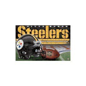 """Pittsburgh Steelers 150 Piece Puzzle by WinCraft. Save 17 Off!. $9.95. Officially licensed, 150 piece puzzle is a great puzzle to entertain the young sport enthusiast. It finishes off to an 11""""x17"""" size, and is sold in a reusable plastic clam shell. Made in USA."""