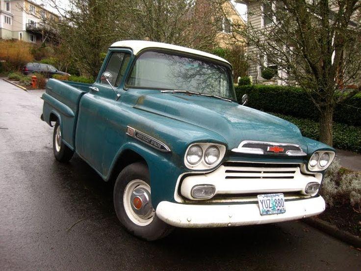 17 meilleures id es propos de vieux pick up chevrolet sur pinterest camions vintage. Black Bedroom Furniture Sets. Home Design Ideas