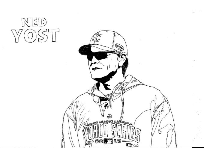 7 best Kansas City Royals Coloring Pages images on Pinterest ...