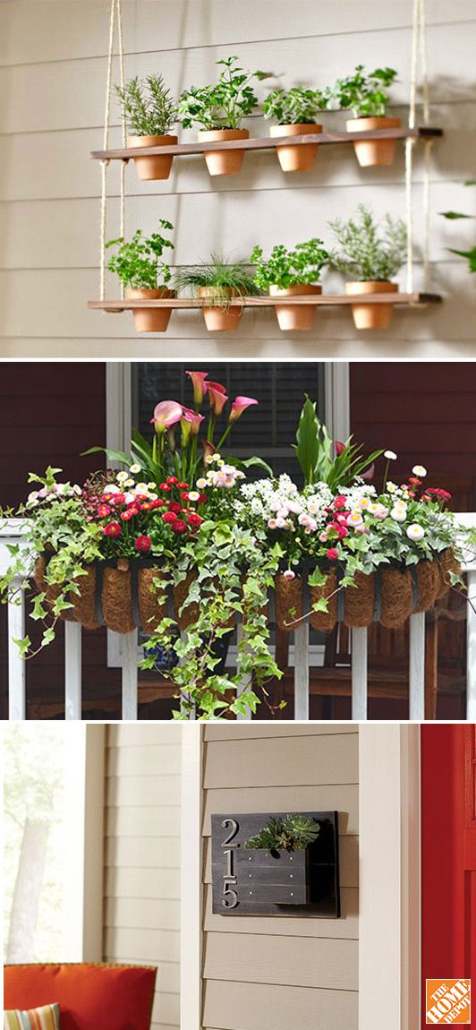 Spruce up your porch for spring with these five easy projects! See them on The Home Depot's Garden Club.