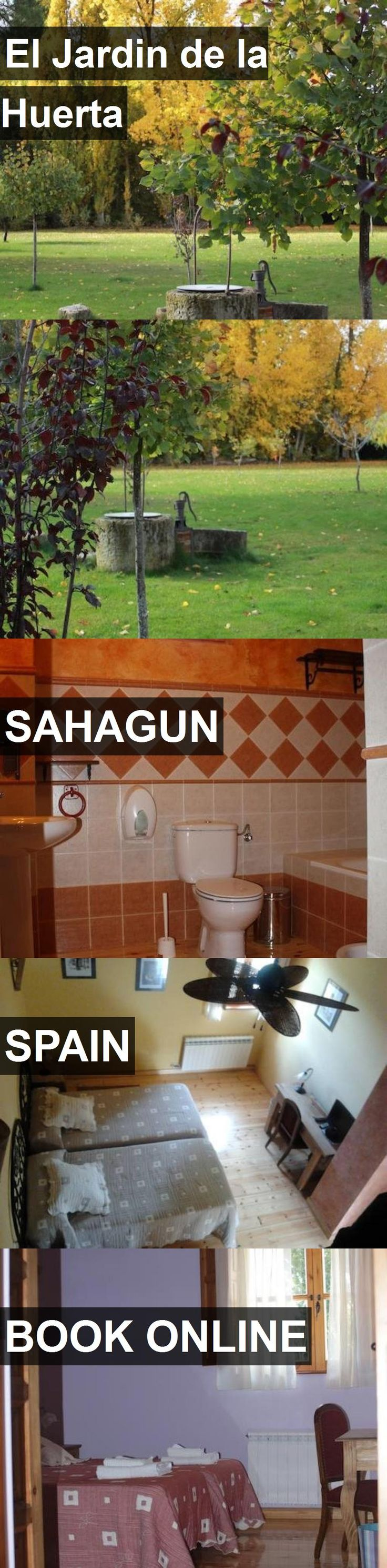 Hotel El Jardin de la Huerta in Sahagun, Spain. For more information, photos, reviews and best prices please follow the link. #Spain #Sahagun #ElJardindelaHuerta #hotel #travel #vacation