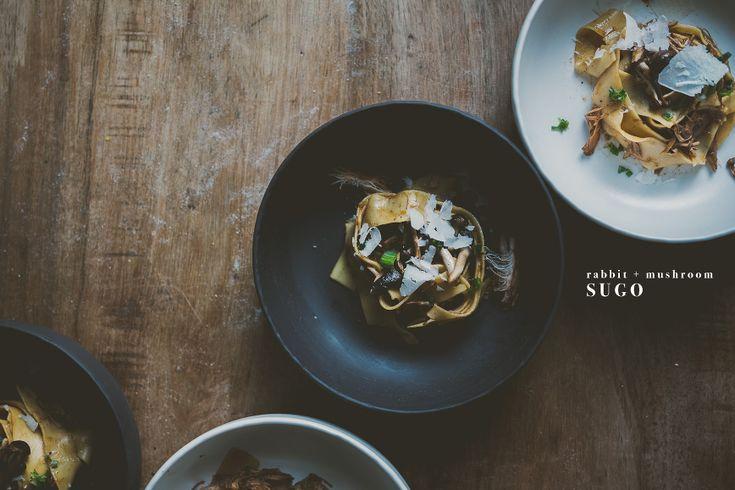 Rabbit + Mushroom Sugo | bettysliu-10 copy
