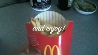 Love McDonalds quarter pounders but hate the calories? Try this better for you version!   #cleaneating #burgers #frenchfries #eatclean #hamburger #mcdonalds #quarterpounder #wellbeing #nutrition