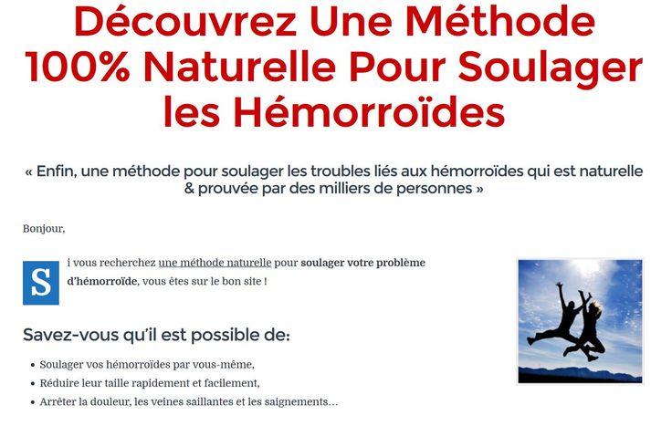 Stop Hémorroïdes ! Plus de 110 Pages de Conseils, les Astuces et Toutes les Techniques Naturelles pour le Soulagement Rapide et Sain des Hémorroïdes.