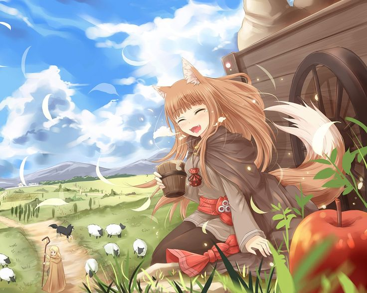 Spice And Wolf Page 1