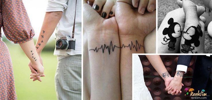 Çiftlerin yapmış oldukları birbirlerini tamamlayıcı dövmeler #tattoos