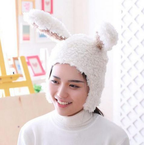 9472af876 White rabbit costume ideas hats with ears cosplay bunny hats for ...