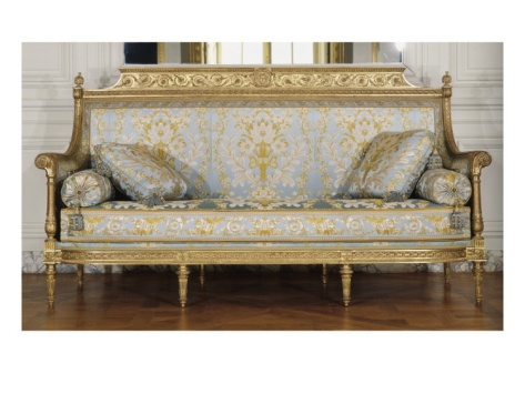 georges jacob canap si ge du salon des jeux de louis xvi saint cloud grand cabinet du dauphin. Black Bedroom Furniture Sets. Home Design Ideas