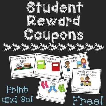 17 best ideas about reward coupons on pinterest classroom reward coupons classroom coupons free and free classroom rewards